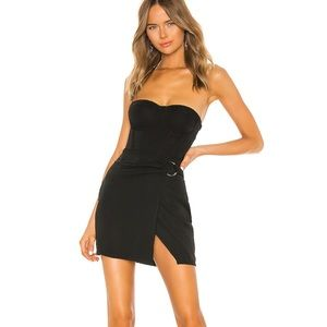 Superdown Black Mini Dress (revolve)